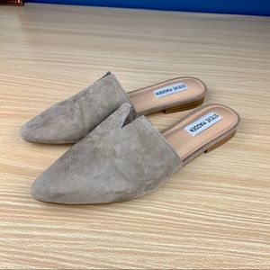 Steve Madden Taupe Mules!